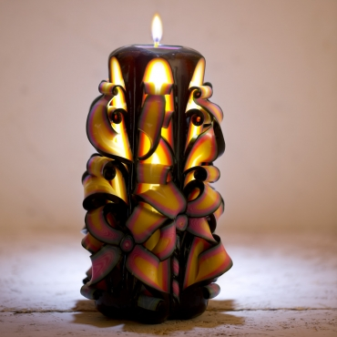 Votivo candles - Hand Carved candles for sale - Decorative candles - handmade EveCandles